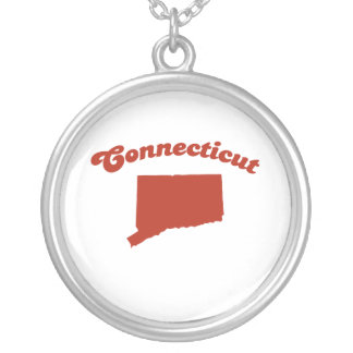 CONNECTICUT Red State Necklaces