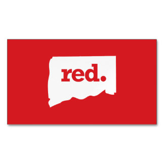 Connecticut Republican Magnetic Business Card