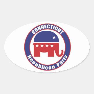 Connecticut Republican Party Stickers