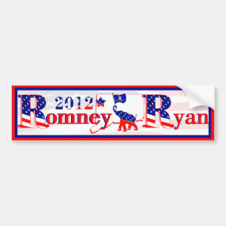 Connecticut Romney and Ryan 2012 Bumper Sticker