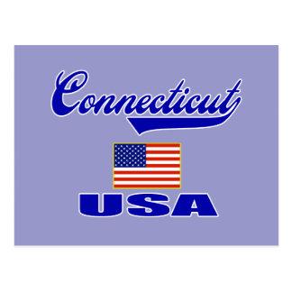 Connecticut Script Postcard