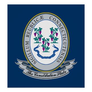 Connecticut Seal Poster