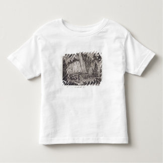 Connecticut Soldiers Reposing on Porter's Rock Toddler T-Shirt