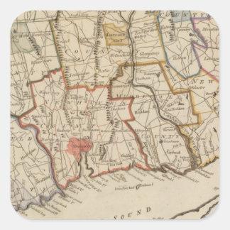 Connecticut Square Sticker