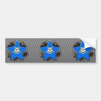 Connecticut Star Bumper Stickers