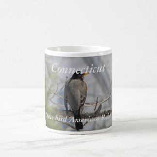 Connecticut state bird photo mug
