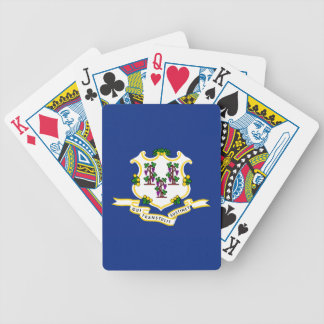 Connecticut State Flag Bicycle Poker Deck