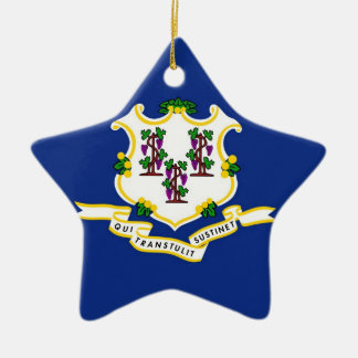 Connecticut State Flag Ornament