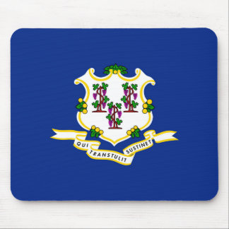 Connecticut State Flag Design Mouse Pad