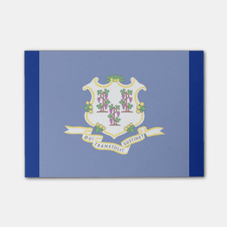 Connecticut State Flag Design Post-It Note