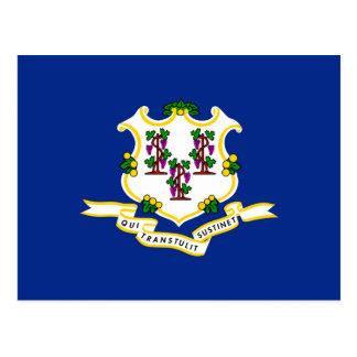 Connecticut State Flag Design Postcard
