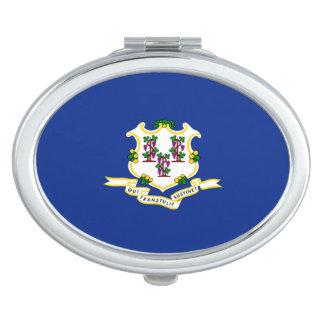 Connecticut State Flag Design Vanity Mirror