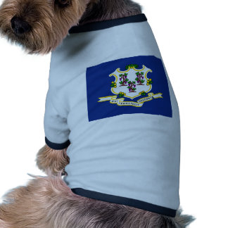 Connecticut State Flag Doggie Tee
