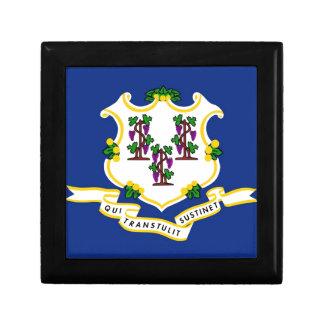 Connecticut State Flag Trinket Box