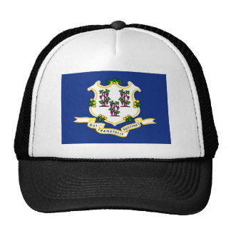 Connecticut State Flag Trucker Hat
