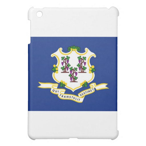 Connecticut State Flag Cover For The iPad Mini