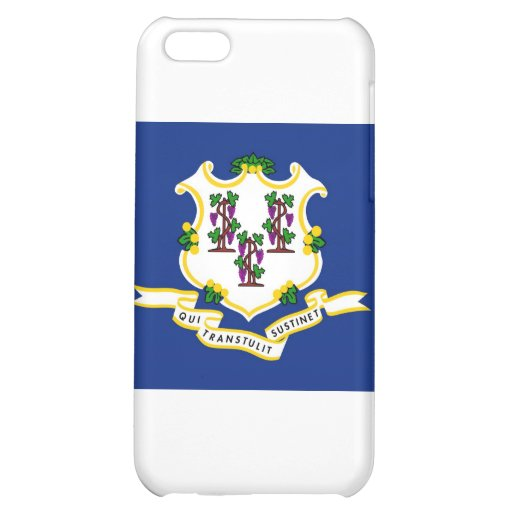 Connecticut State Flag Cover For iPhone 5C