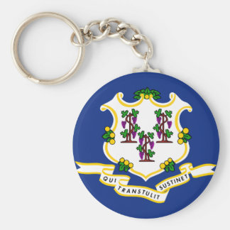 Connecticut State Flag Key Chain