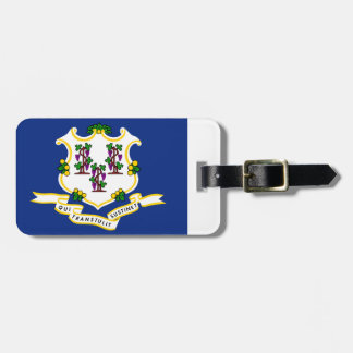 Connecticut State Flag Luggage Tag