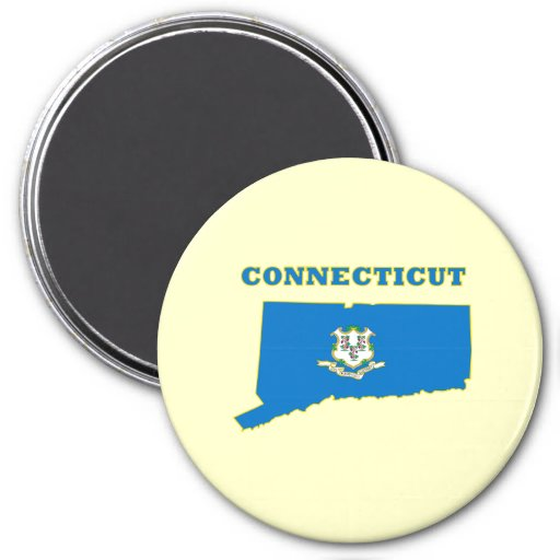 Connecticut State Flag Magnets