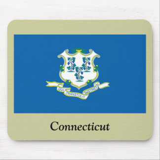Connecticut State Flag Mouse Mats