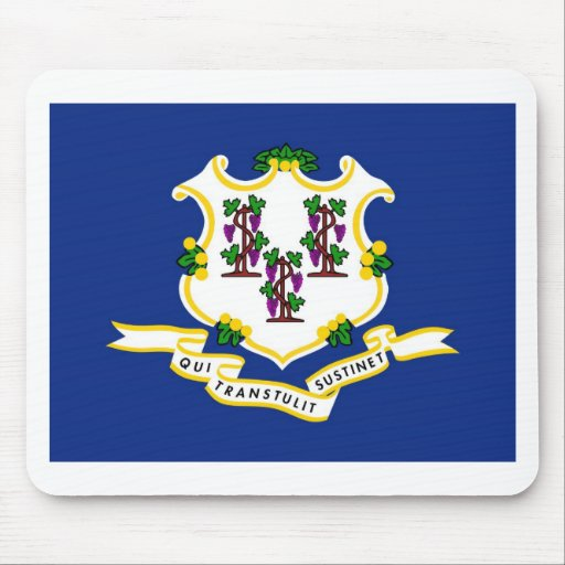 Connecticut State Flag Mouse Pad