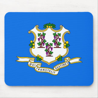 Connecticut State Flag Mouse Pads