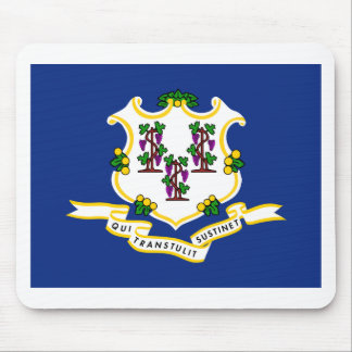 Connecticut State Flag Mousepads