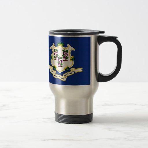 Connecticut State Flag Mug