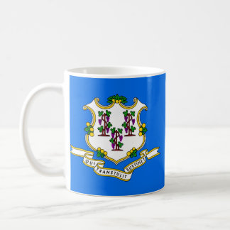 Connecticut State Flag Coffee Mugs