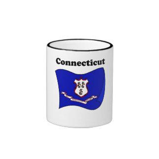 Connecticut State Flag Mugs