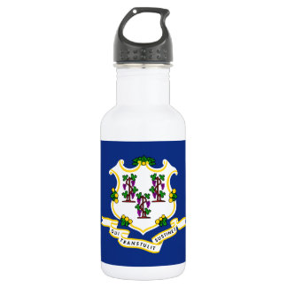 Connecticut State Flag 532 Ml Water Bottle
