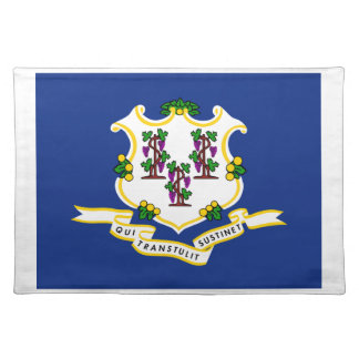 Connecticut State Flag Place Mat