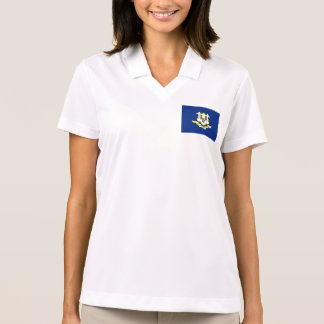 Connecticut State Flag Polo