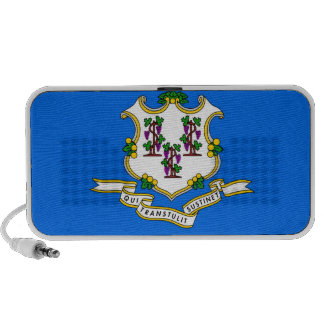 Connecticut State Flag Laptop Speakers