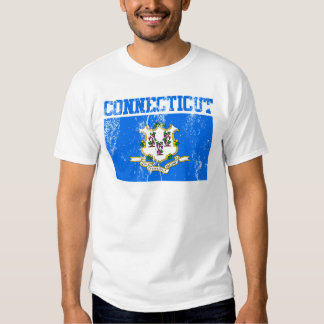 Connecticut State Flag T-Shirt (Distressed)