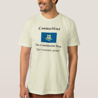 Connecticut State Flag T-shirts