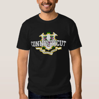 Connecticut State Flag Tee Shirts