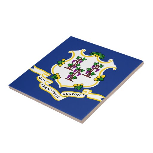 Connecticut State Flag Tiles