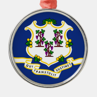 Connecticut state flag usa united america symbol christmas ornament