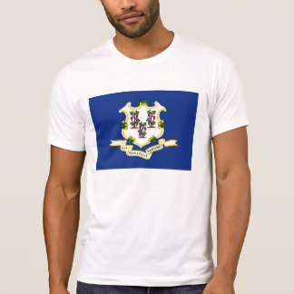 Connecticut state flag usa united america symbol T-Shirt