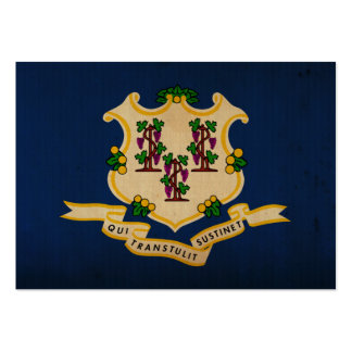 Connecticut State Flag VINTAGE.png Business Card