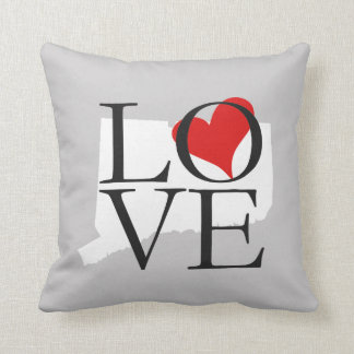 Connecticut State Love Pillow