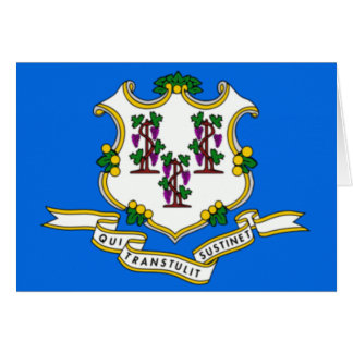 CONNECTICUT STATE SEAL GREETING CARD