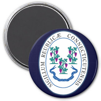 Connecticut State Seal Magnet