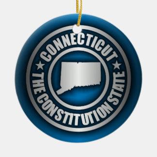 """Connecticut Steel"" Decorative Ornaments (Blue)"