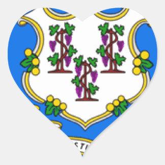 Connecticut Heart Sticker