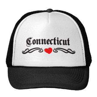 Connecticut Tattoo Mesh Hats
