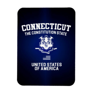 Connecticut The Constitution State Magnet