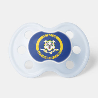 Connecticut The Constitution State Personal Flag Pacifiers